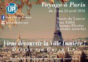 Projet voyage à Paris